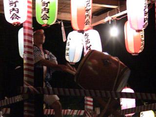 八杉神社盆踊り